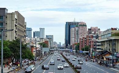 科華北路街景