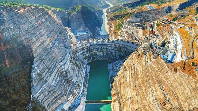 白鹤滩水电站建最聪明的大坝